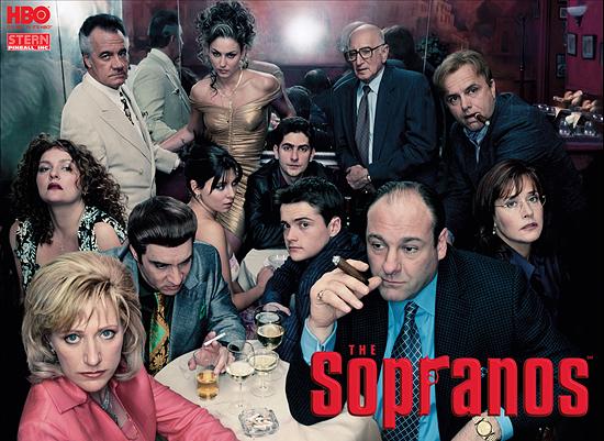 소프라노스 공식 포스터