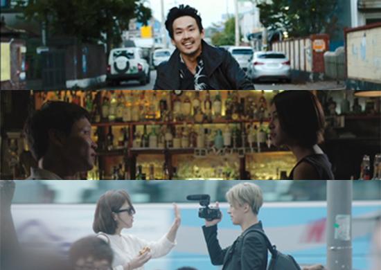 2014 서울독립영화제 개막작 <오늘영화>. 3편의 단편으로 구성된 옴니버스 영화다.