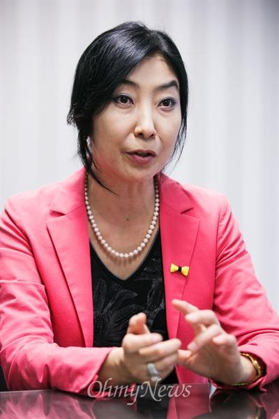 <재미동포아줌마, 북한에 가다> 저자 신은미씨.