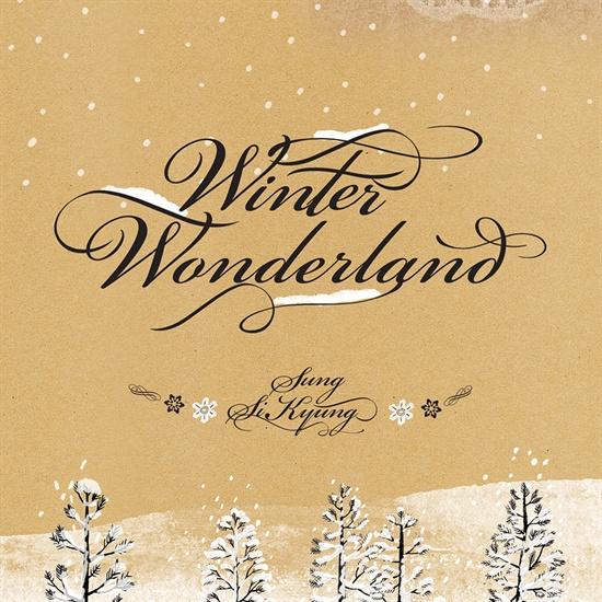 성시경의 새 앨범 < Winter Wonderland(윈터 원더랜드) >의 커버 이미지