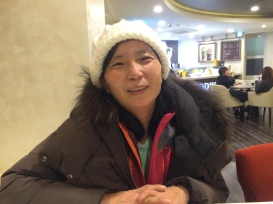 세월호 희생자 고 박성호 군의 어머니 정혜숙씨