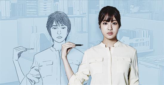 tvN 금토드라마 <미생>의 안영이(강소라 분).