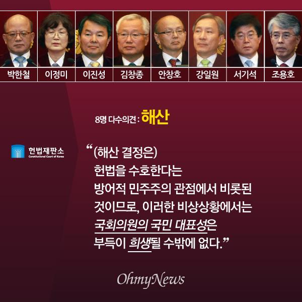 '진보당 해산' 헌법재판소 다수·소수의견 주요 내용06