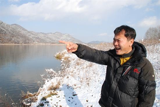 4대강 사업의 그늘을 끈질기게 추적하고 있는 '특종쟁이' 특종술 시민기자, 아니 김종술 시민기자