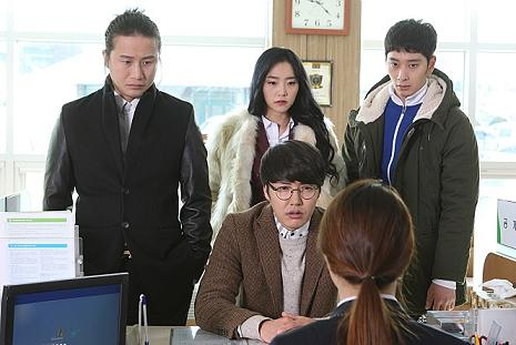 영화 <덕수리 5형제>의 한 장면.