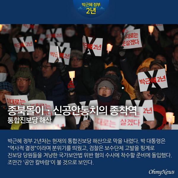박근혜 정부 2년