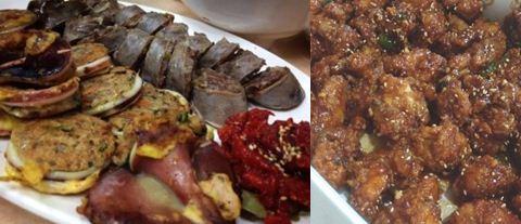육식을 끊기 전, '맛집 탐방'에 나서 먹었던 음식들 이 사진을 보며 동물의 얼굴을 떠올리기는 어렵다.