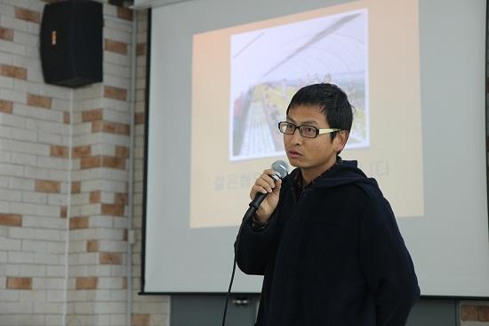 젊은협업농장 조대성 대표는 지역과 협력해 새로운 농촌문화를 만들겠다는 꿈이 있다.