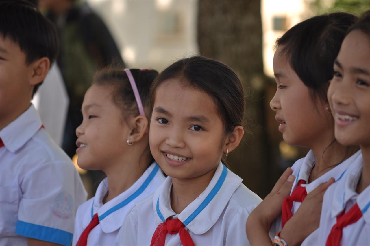 빈호아 초등학교의 아이들