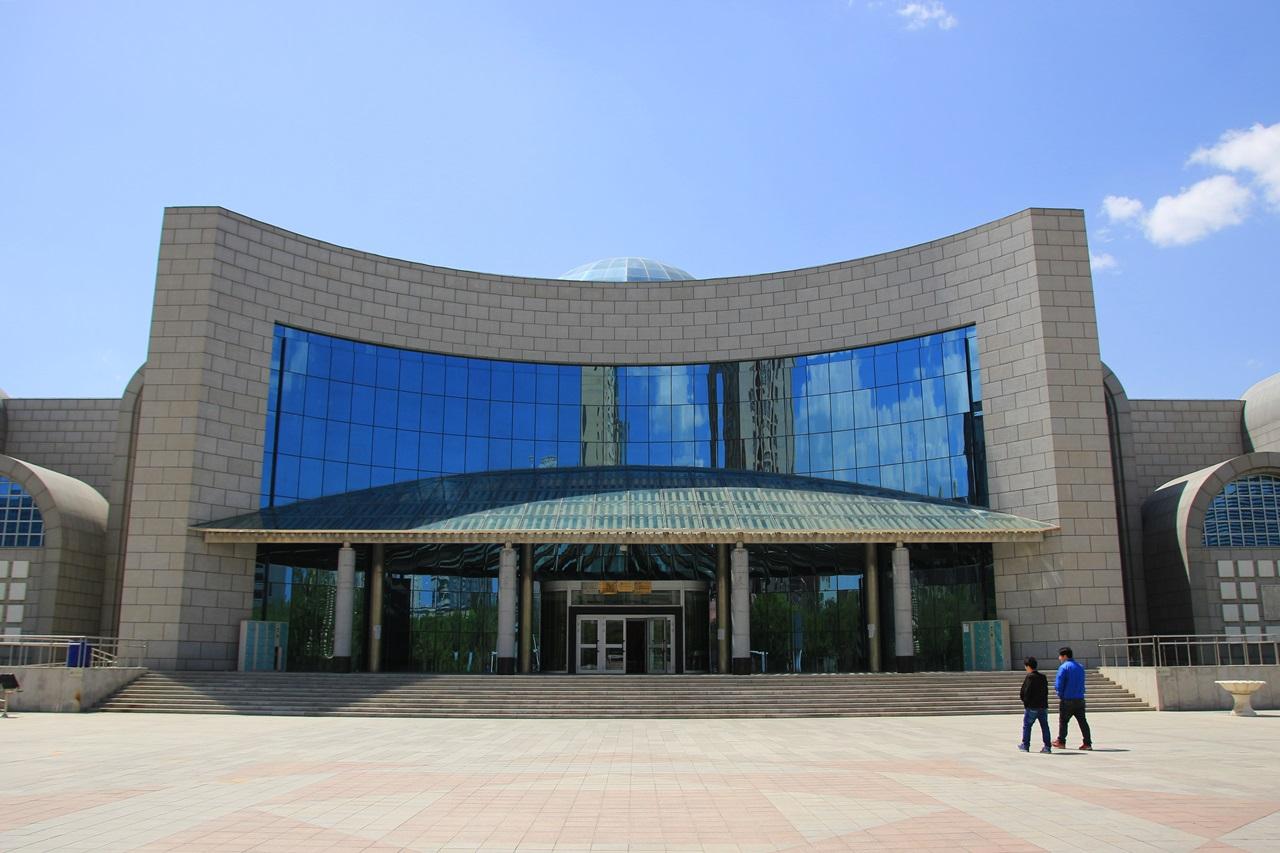 신장 위구르 자치구 박물관 미라 '누란의 미녀'로 유명한 박물관
