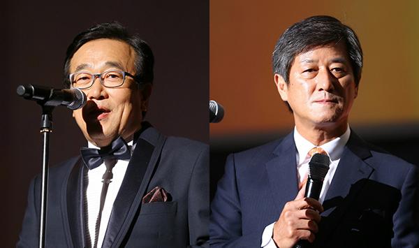 지난 2014년 부산국제영화제 개막식 때 서병수 부산시장과 이용관 집행위원장