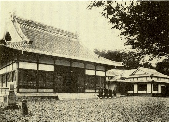 1935년 군산 금강사(동국사) 모습