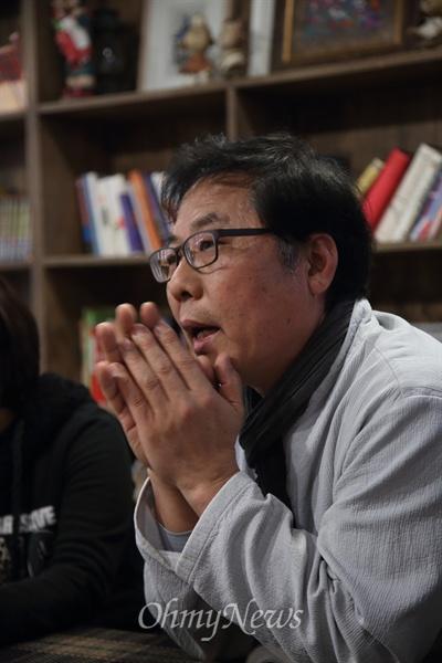 <담쟁이문화원> 한효석 원장.