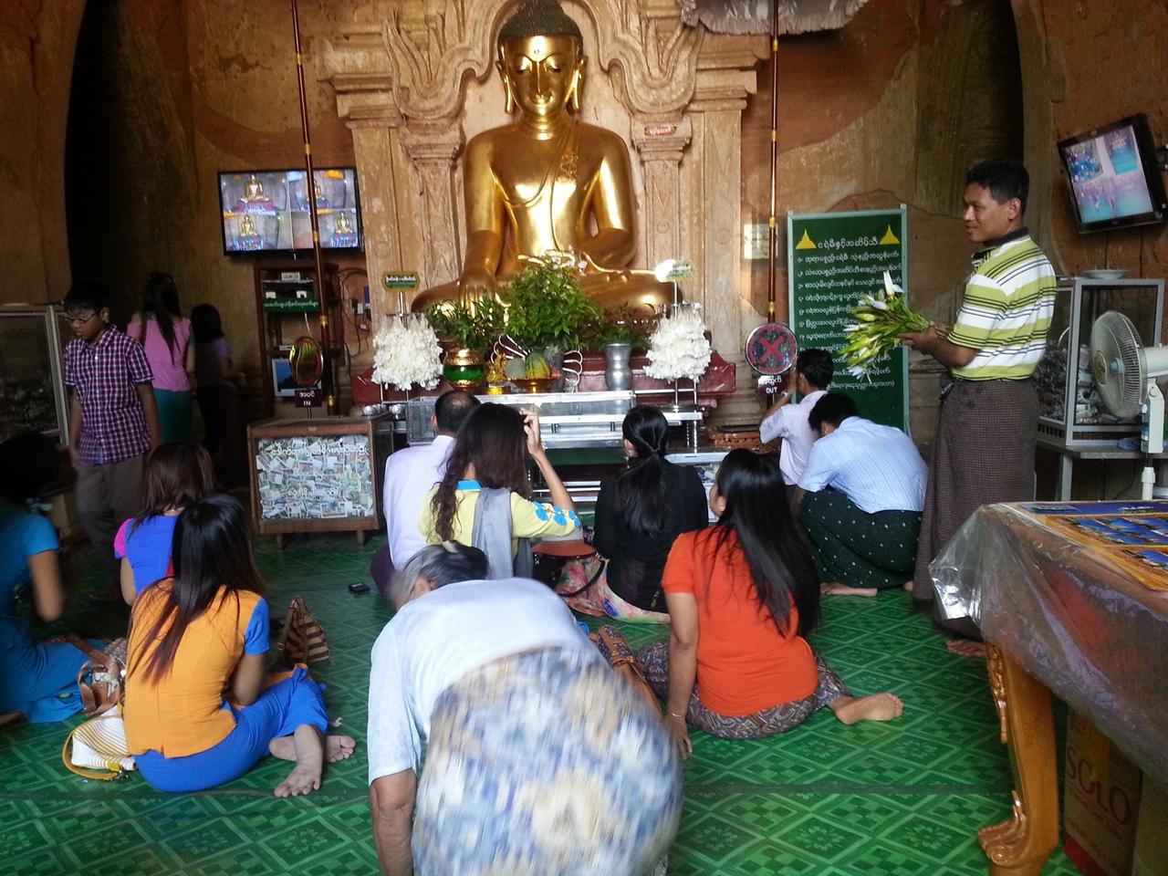 붓다와 미얀마 미얀마 사람들에게 불교는 삶이다.