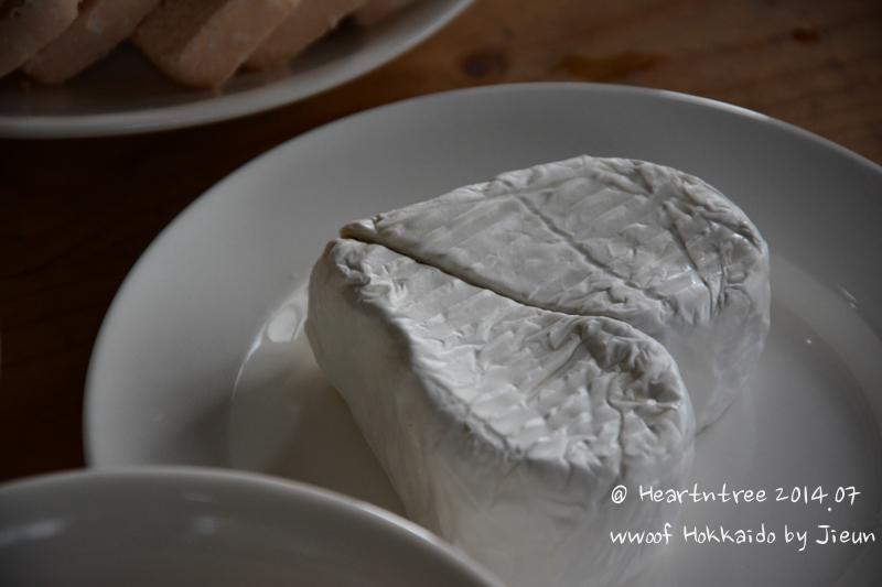 사치코씨가 직접만든 까망베르 치즈