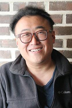 '글래스톤베리 인천' 목장주 이진우씨.