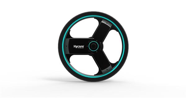 하이코어에서 개발한 올인원 전기 자전거 바퀴 '센티넬 휠'