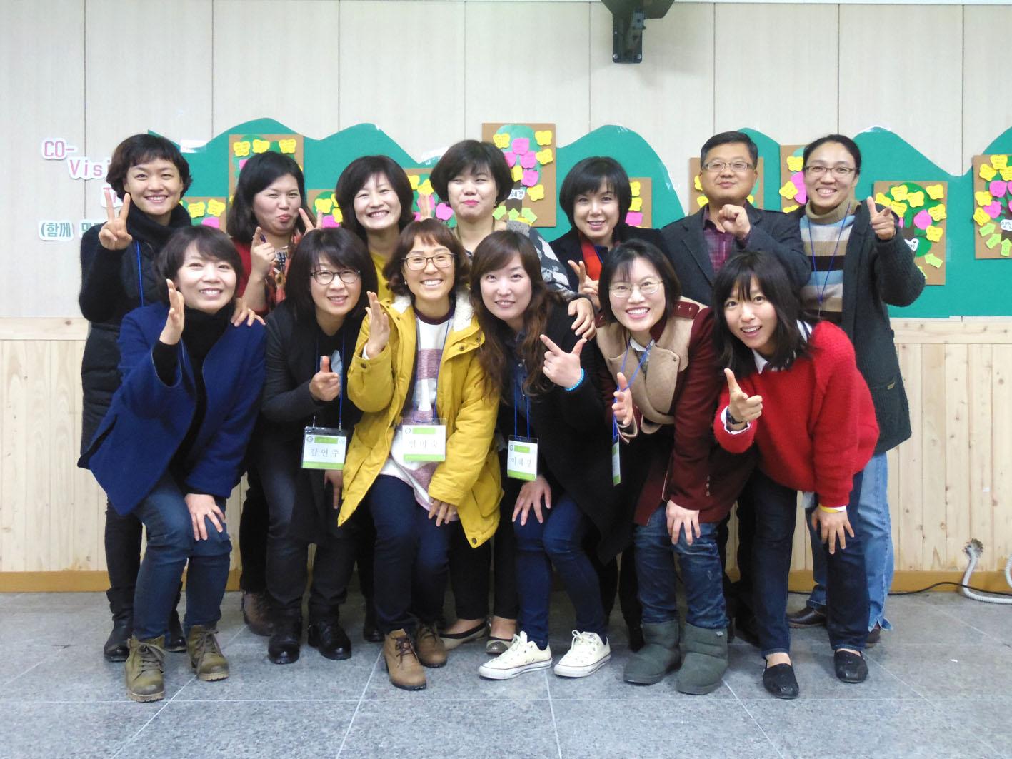 지난해 11월 공익활동지원센터의 교육을 마치고 모두 11명의 마을컨설턴트가 탄생했다.