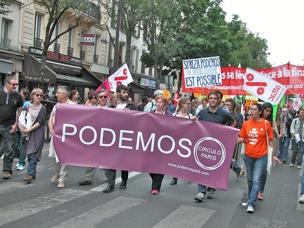 스페인의 극좌정당 포데모스 파리지부