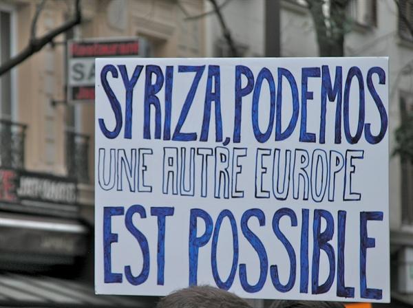 시리자, 포데모스... 또 다른 유럽은 가능하다.