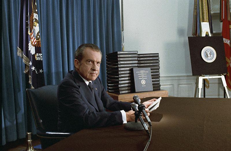 리처드 닉슨 대통령