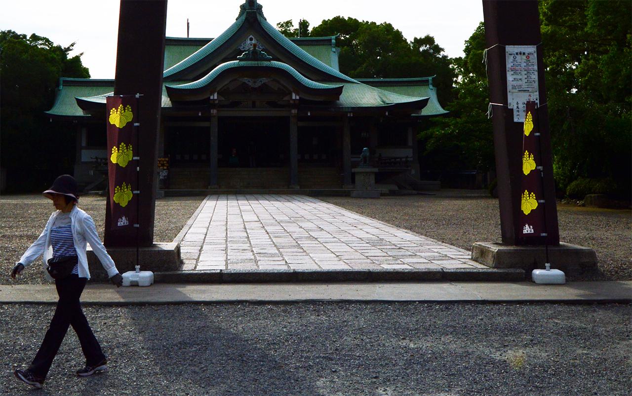 도요토미 가문 문장 도요토미 가문을 나타내던 이 문장은 현재 일본정부의 문장이 되었다.
