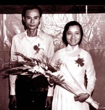 응우옌티쩌우와 레홍뜨의 결혼식.