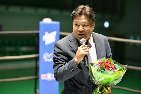 홍수환 현KBC(한국권투위원회) 회장