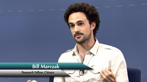 시티즌랩 연구원인 빌 마크잭