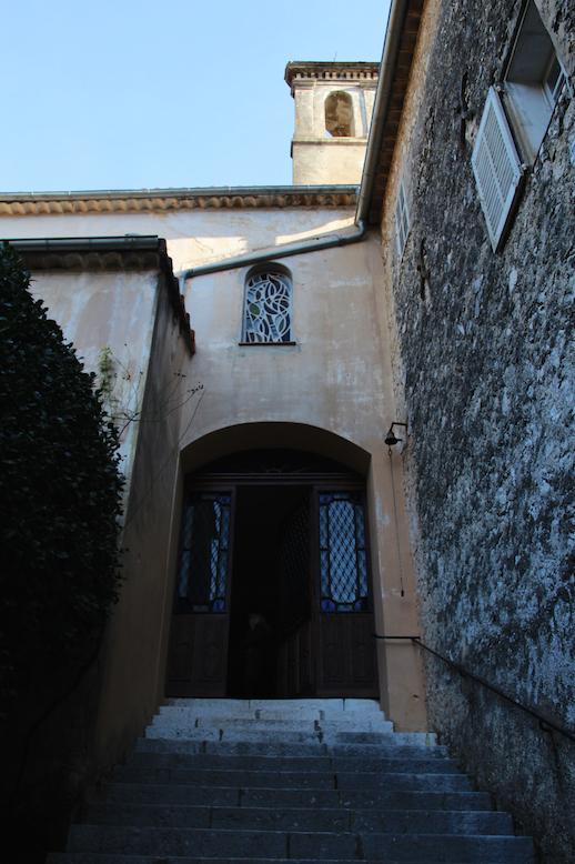 생폴드방스 수녀원 입구에 있는 성당