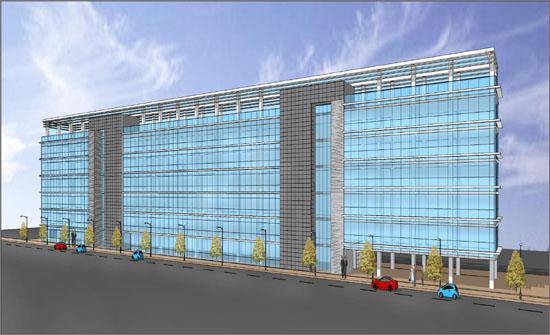 대전 대전도시철도 대동역 인근에 들어설 예정인 '대전시 지식산업센터' 조감도.