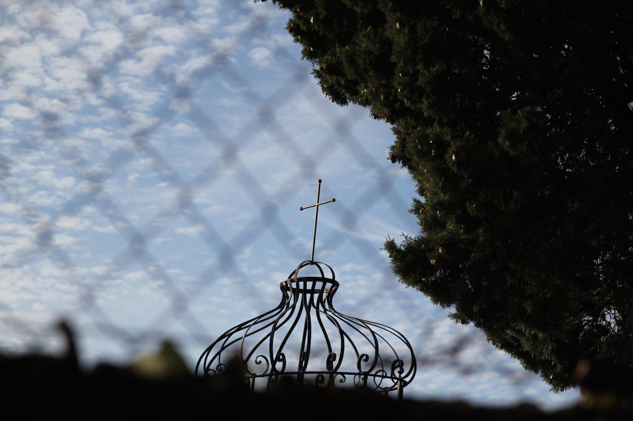 프랑스 생폴드방스 도미니코 수녀원, 담장 밖에서 바라본 풍경