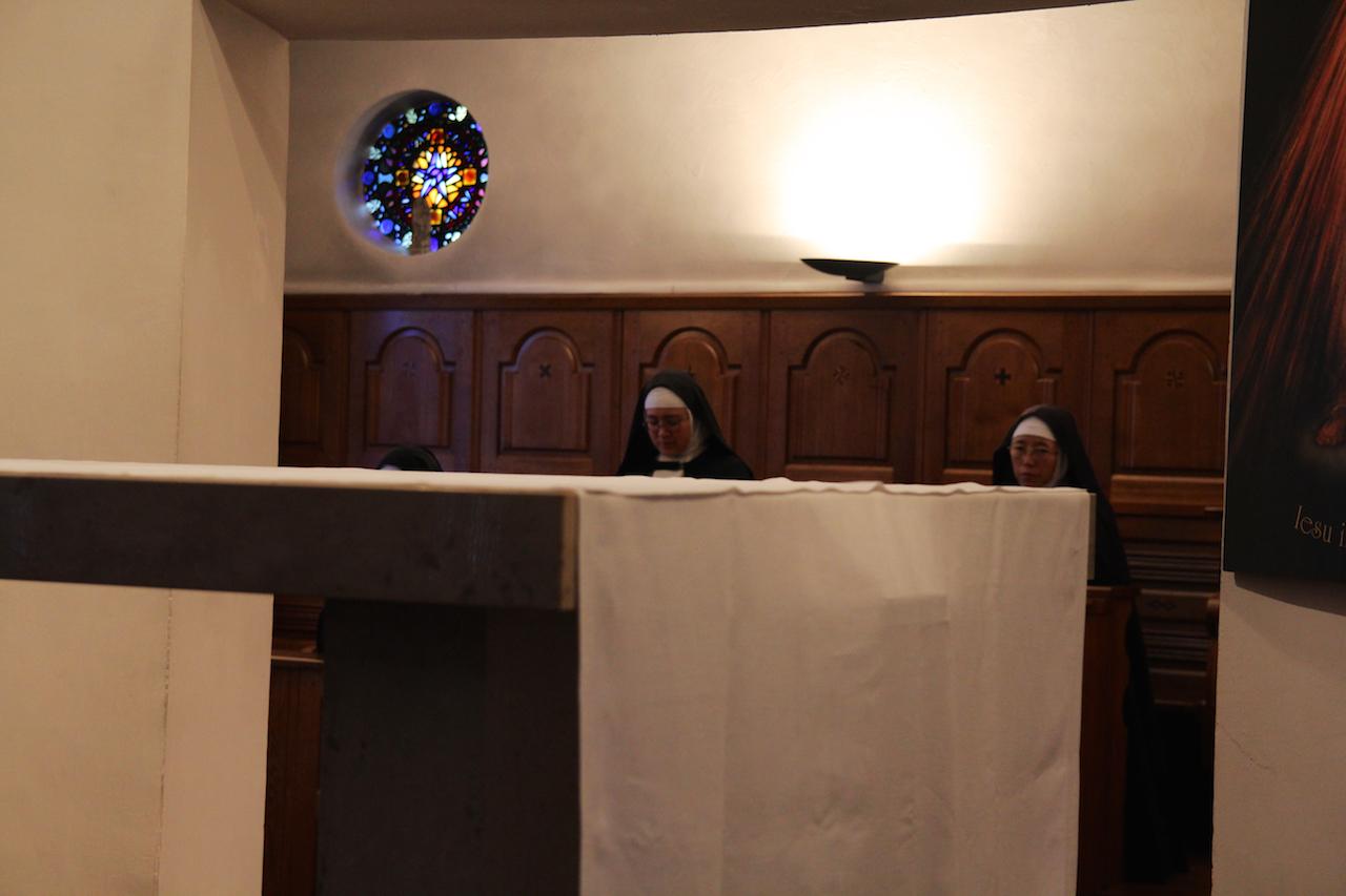 프랑스 생폴드방스 도미니코 수녀원에 있는 작은 성당에서