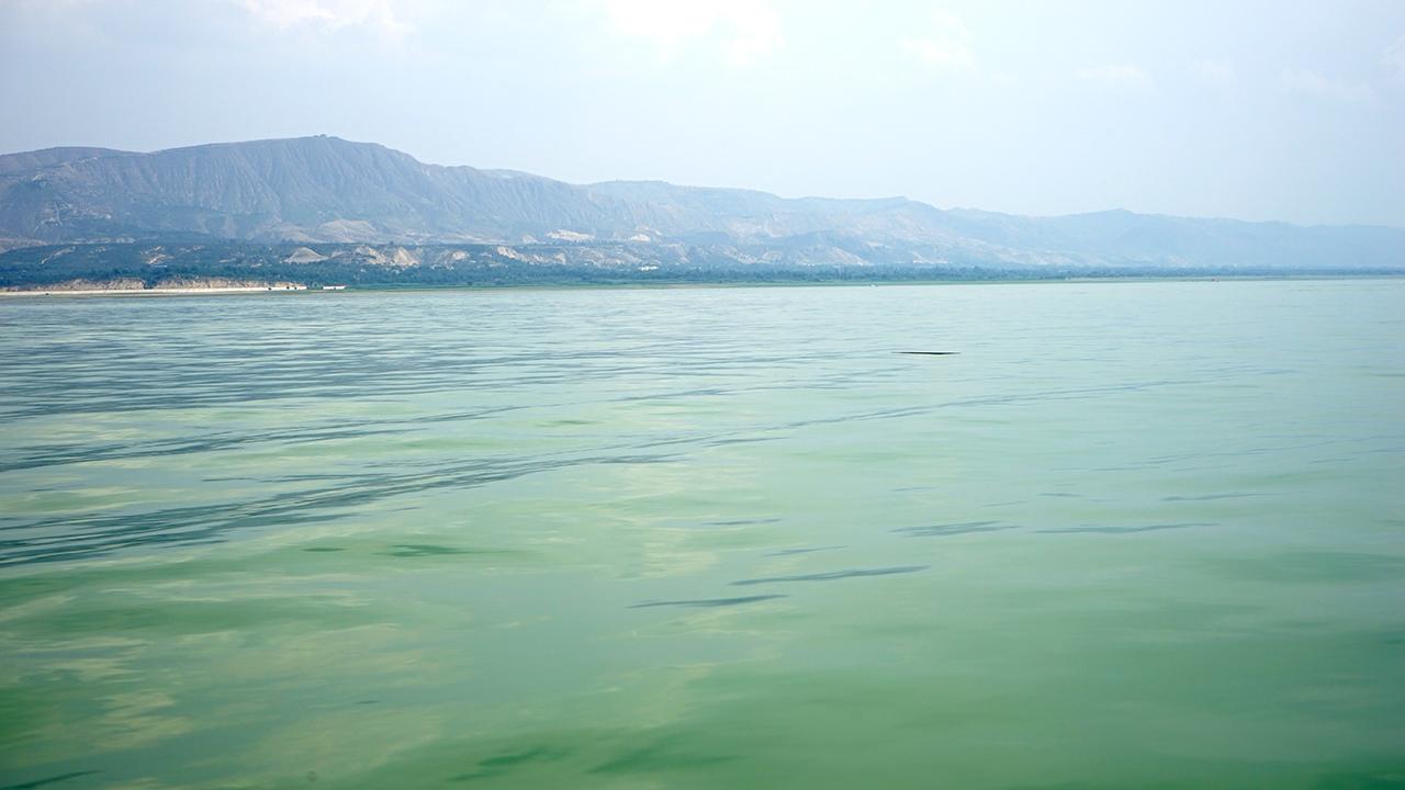 유가협댐의 맑은 물