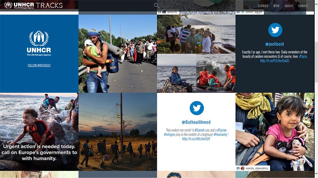 지구촌은 2차 세계대전 이후 사상 최악의 난민 사태를 맞고 있다. 유엔난민기구가 집계한 전 세계 강제 이주민은 5,950만 명에 이른다. 사진은 난민들의 소식을 알리는 유엔난민기구 사이트 갈무리.
