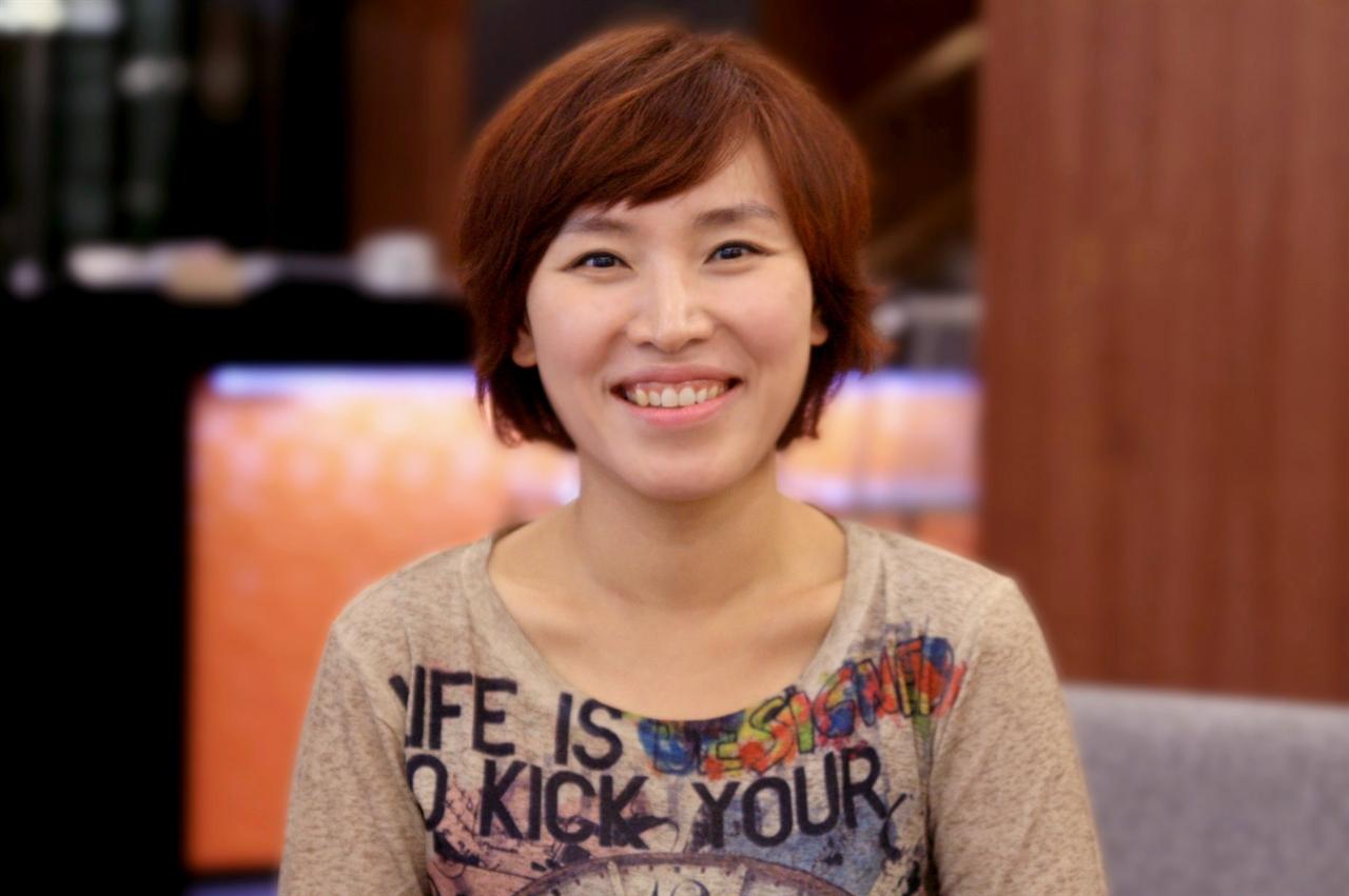 바이올리니스트 박주영 환하게 웃는 모습이 아름답다.