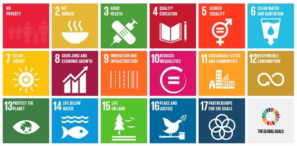 올해 9월 UN총회에서 발표된 지속가능발전목표(SDGs) 17개 목표