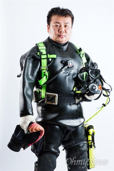 세월호 희생자 수습에 참여한 김관홍 잠수사