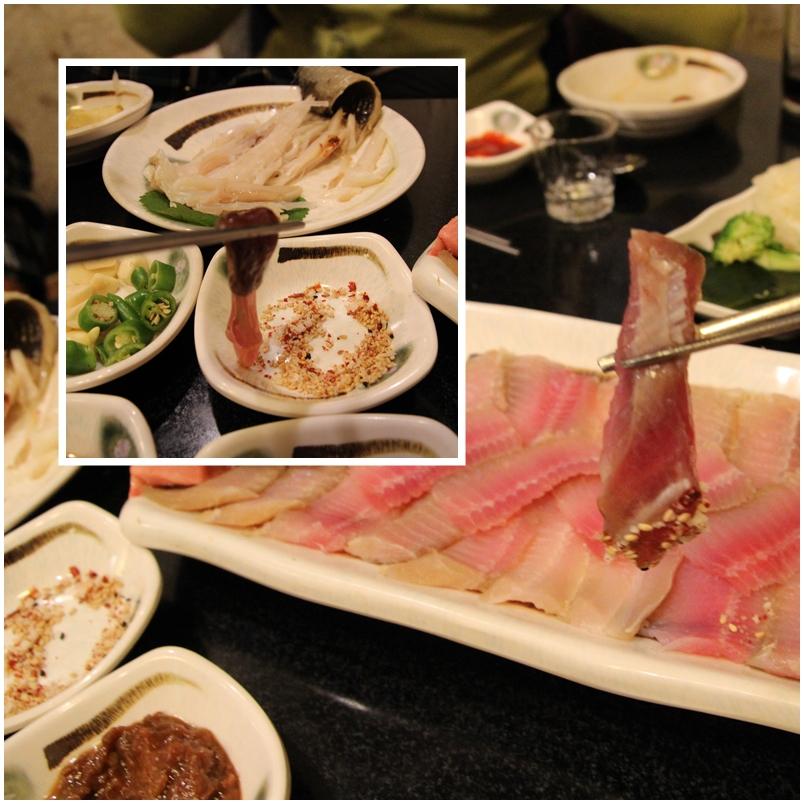 부위마다 맛이 다른 홍어의 숨겨진 진짜배기 별미는 홍어 특수부위다.