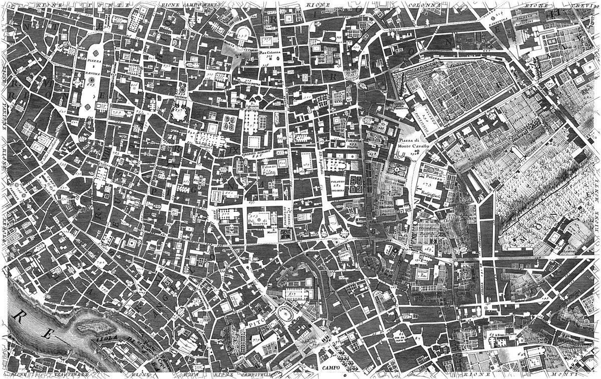 놀리 지도 https://commons.wikimedia.org/wiki/Nuova_Topografia_di_Roma_di_Giovanni_Battista_Nolli_(1748)