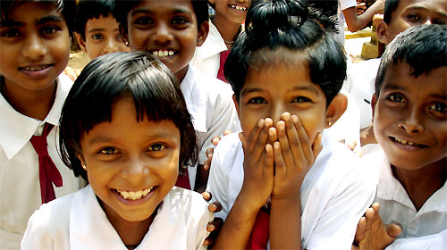 스리랑카 학생들