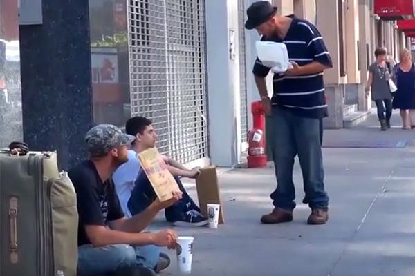 뉴욕에서 노숙인과 노숙청소년에 대한 반응 실험