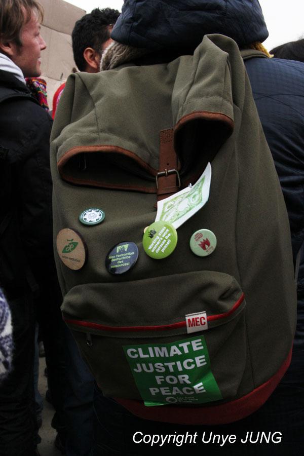 '기후와 정의, 평화를 위해'