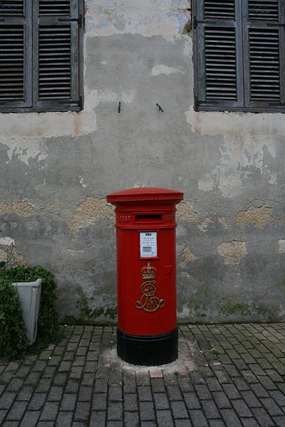 영국이 몰타에 남기고 간 빨간 흔적.