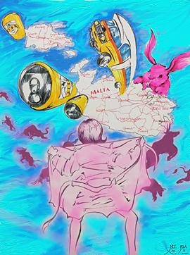 <아무도 모르는 누군가의 몰타> 프롤로그 이미지.