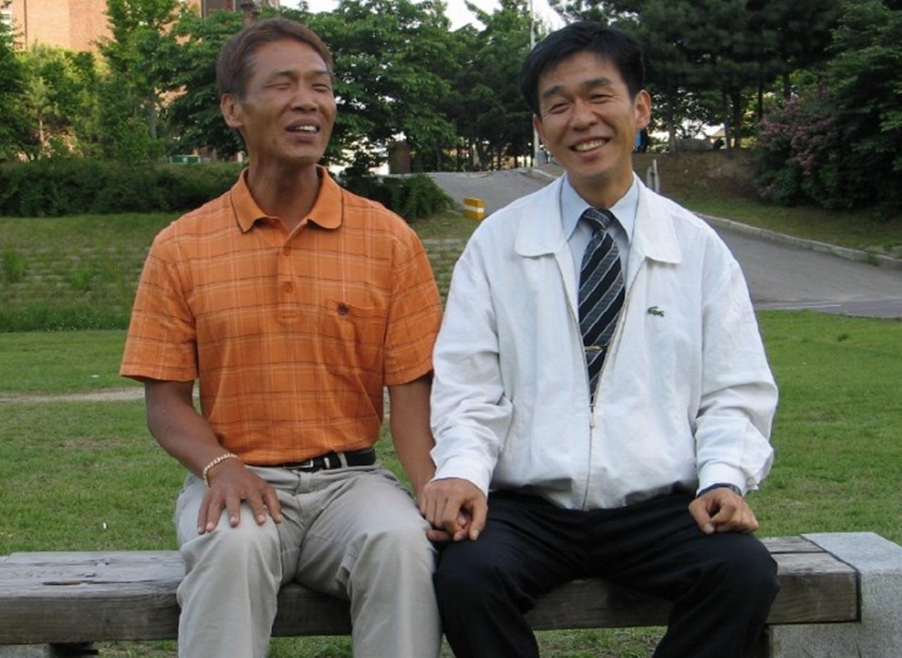 그와 나는 친구가 되었다 시각장애인 이용술님과