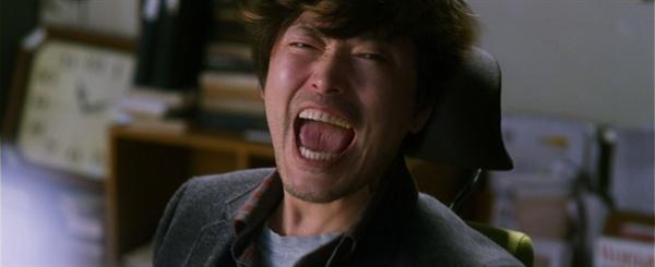영화 열정같은 소리하고 있네에서 '개저씨' 부장 역할로 나온 정재영 배우