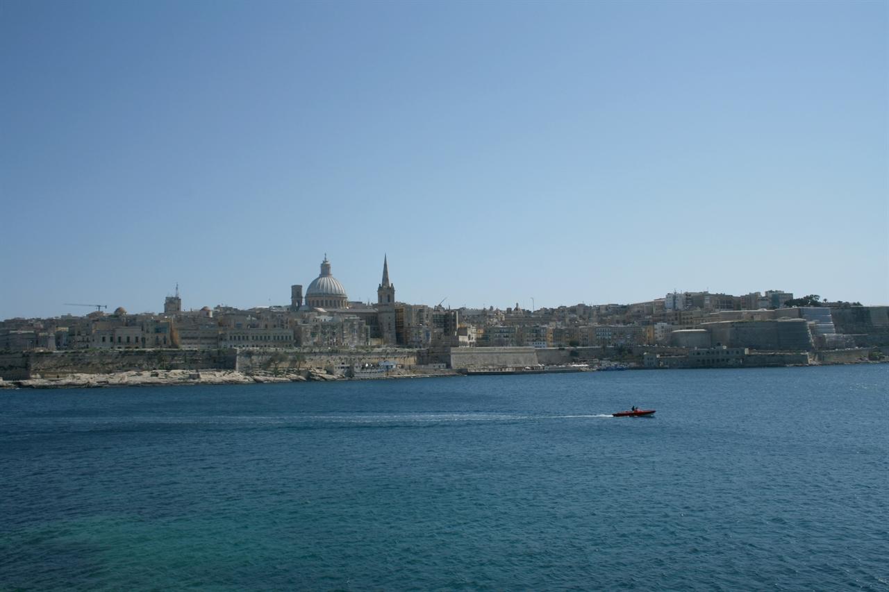 몰타의 수도 발레타의 전경