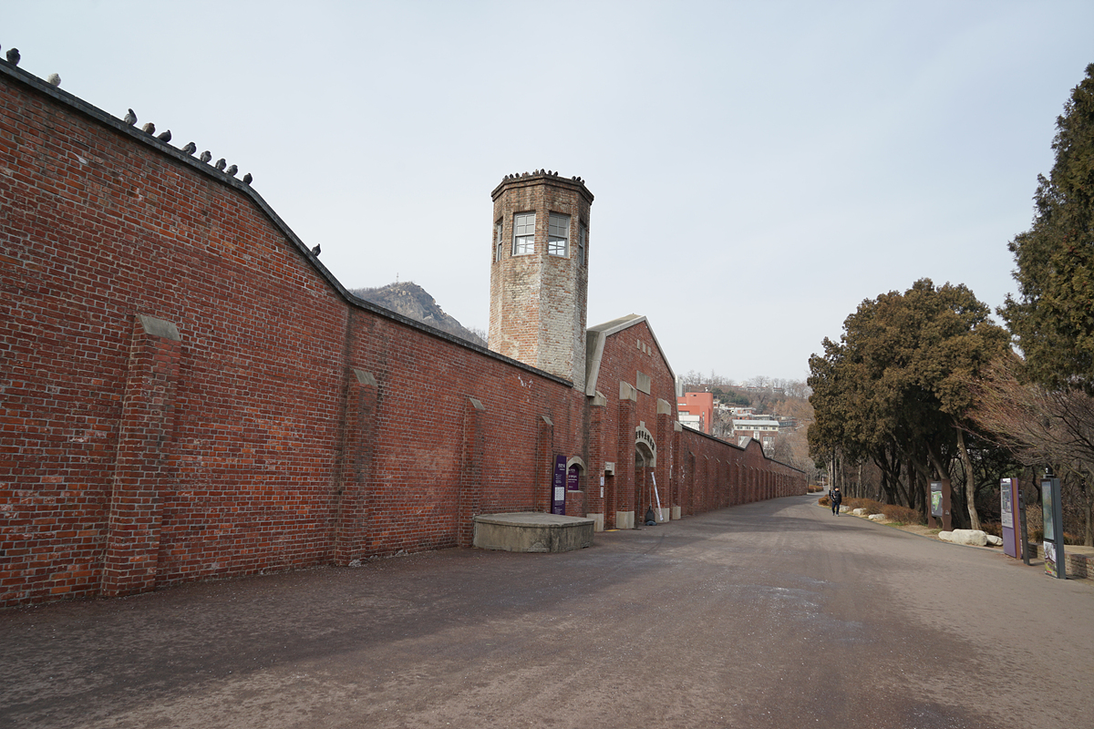 옛 서대문형무소 정문