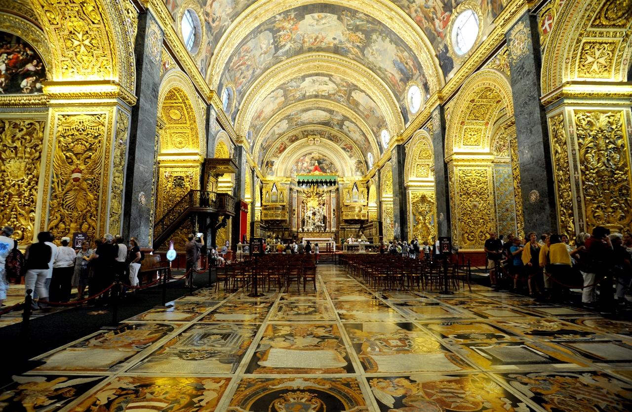 성 요한 대성당(st john's co cathedral) 내부 모습